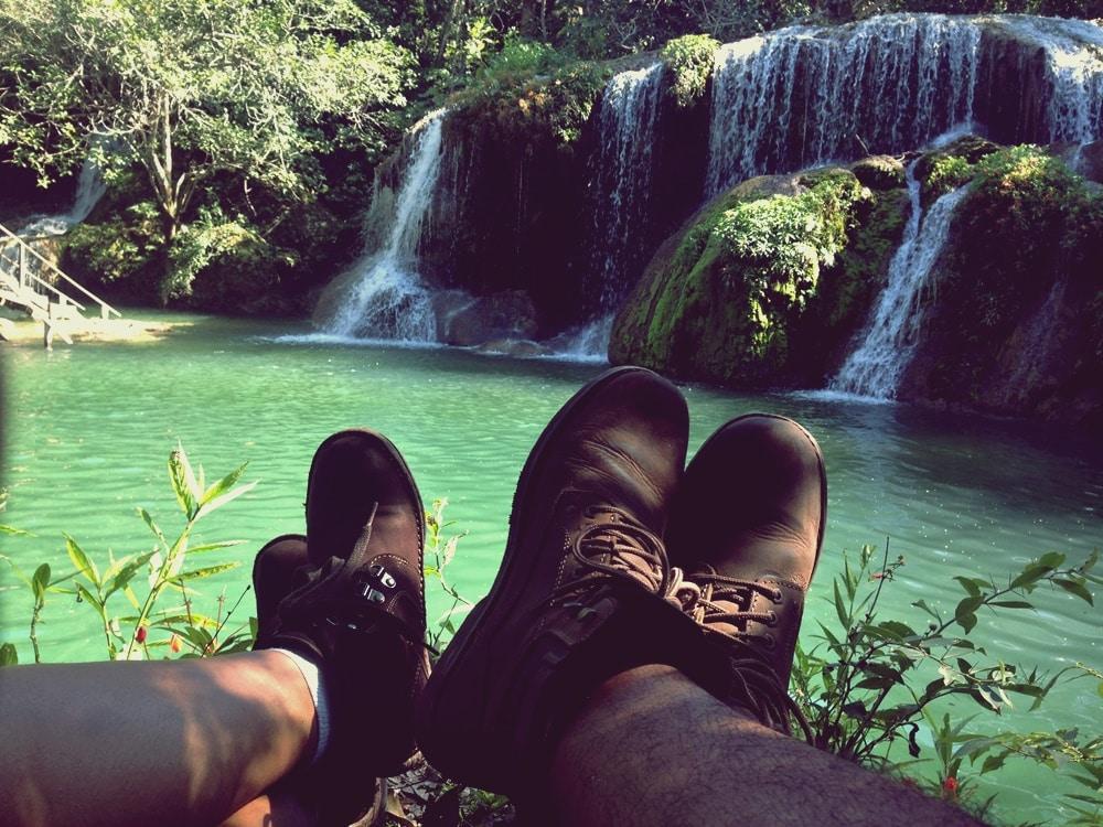 Lindas Cachoeiras e muito contato com a natureza