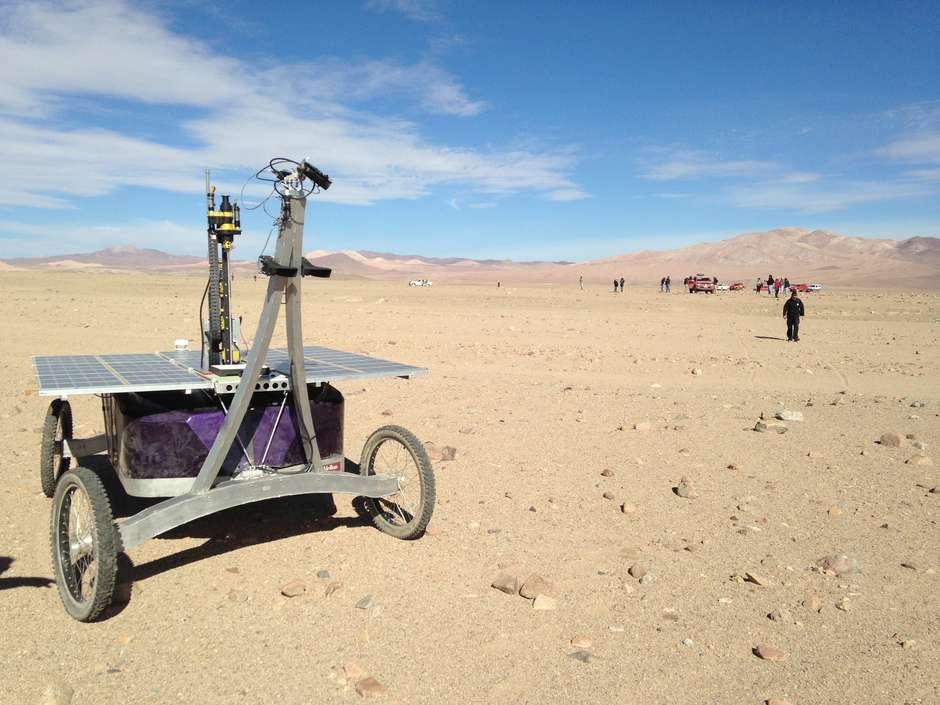 O solo do Deserto do Atacama é semelhante ao de Marte