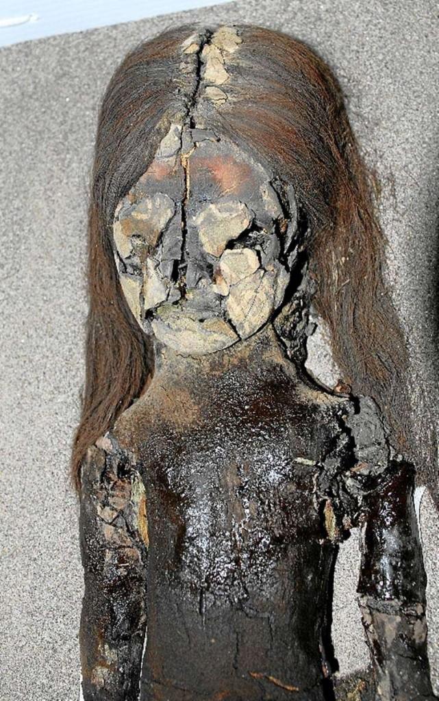 Múmia chinchorro encontrada no Deserto do Atacama