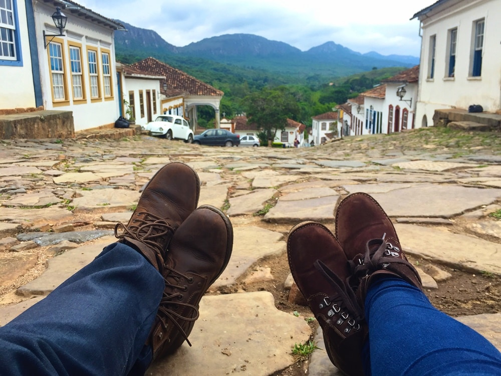 As lindas ruas de Tiradentes