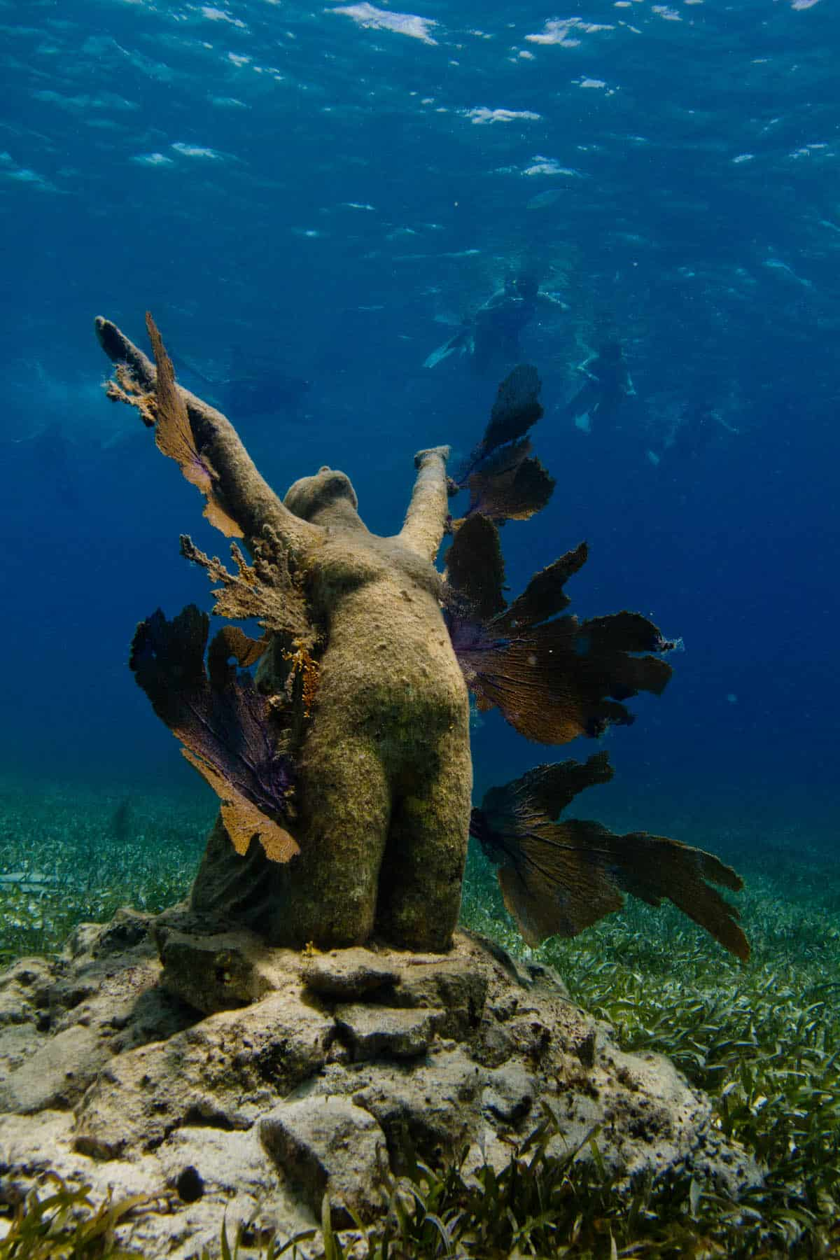 'Reclamation' de Jason DeCaires Taylor
