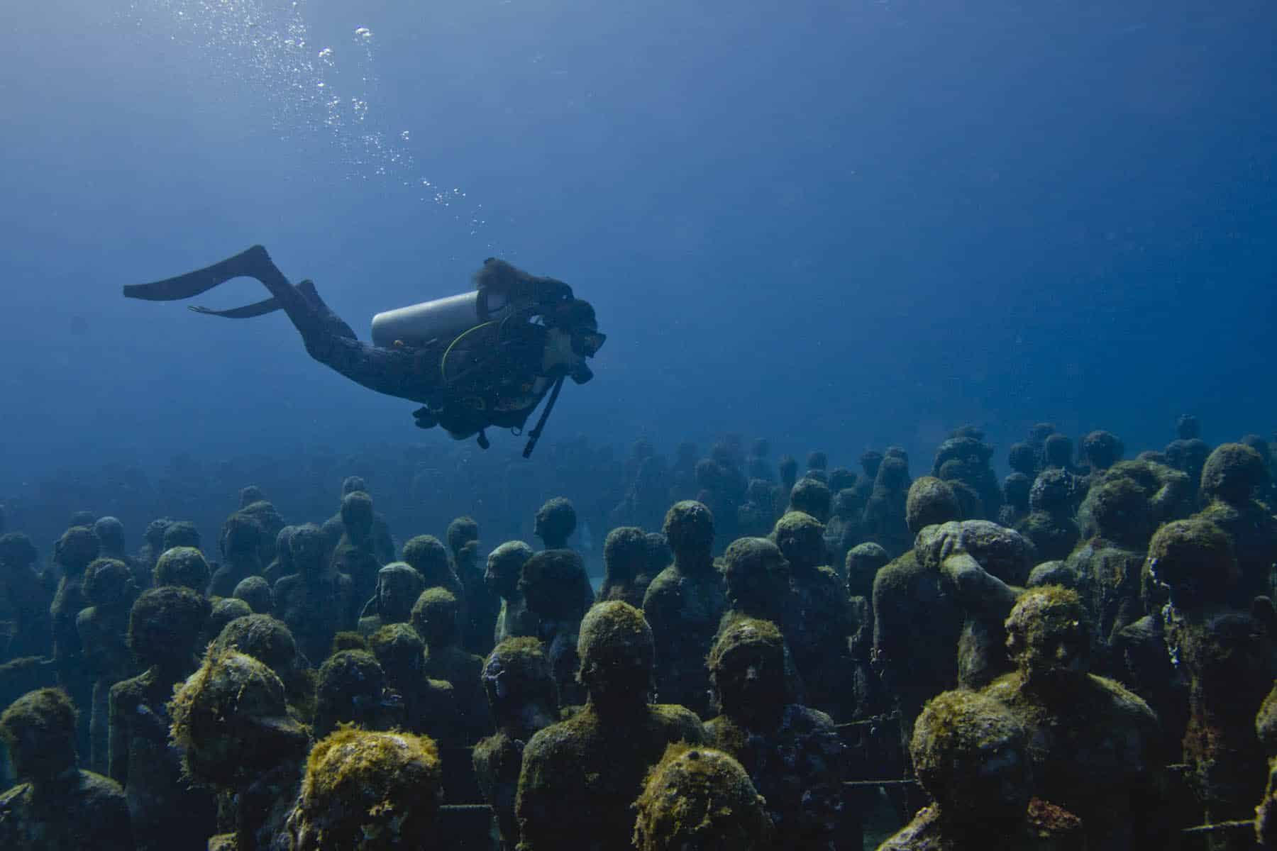 'Silent Evolution' de Jason DeCaires Taylor