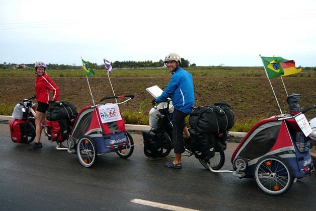 Bikes adaptadas fornecidas por patrocinadores
