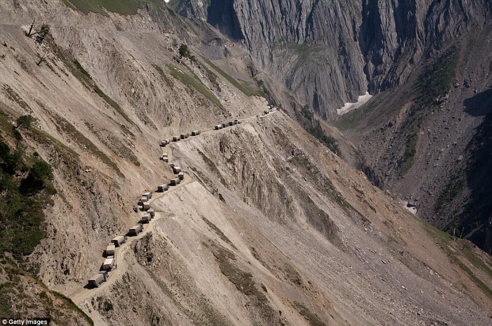 Zojila Pass, Índia