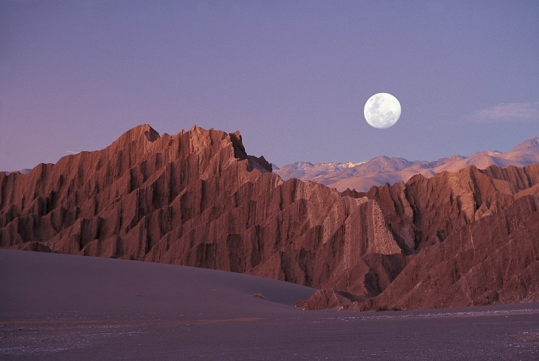 Valle de la luna, Chile