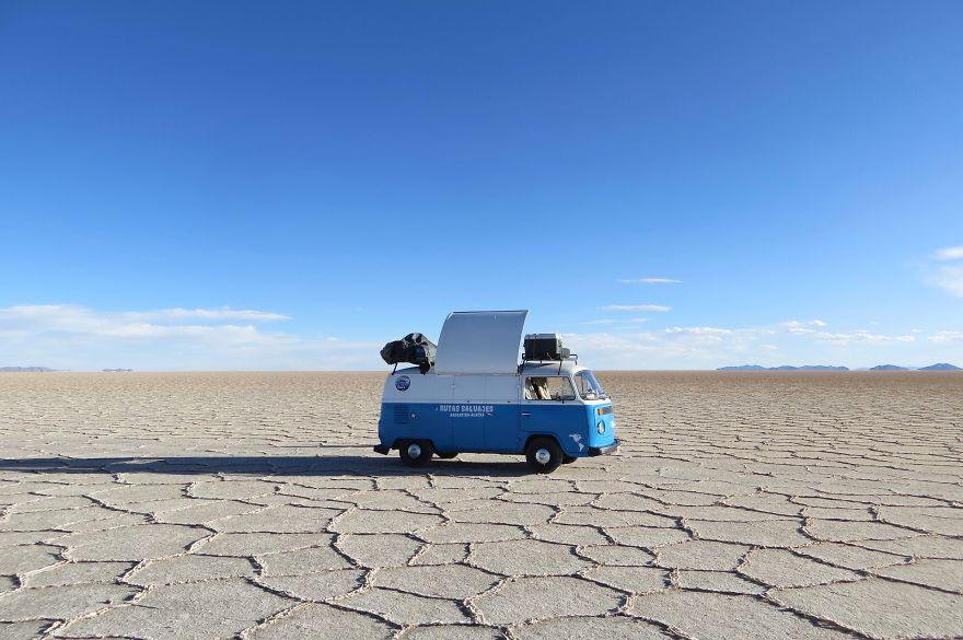 Ou estar em Deserto com nada em sua volta!