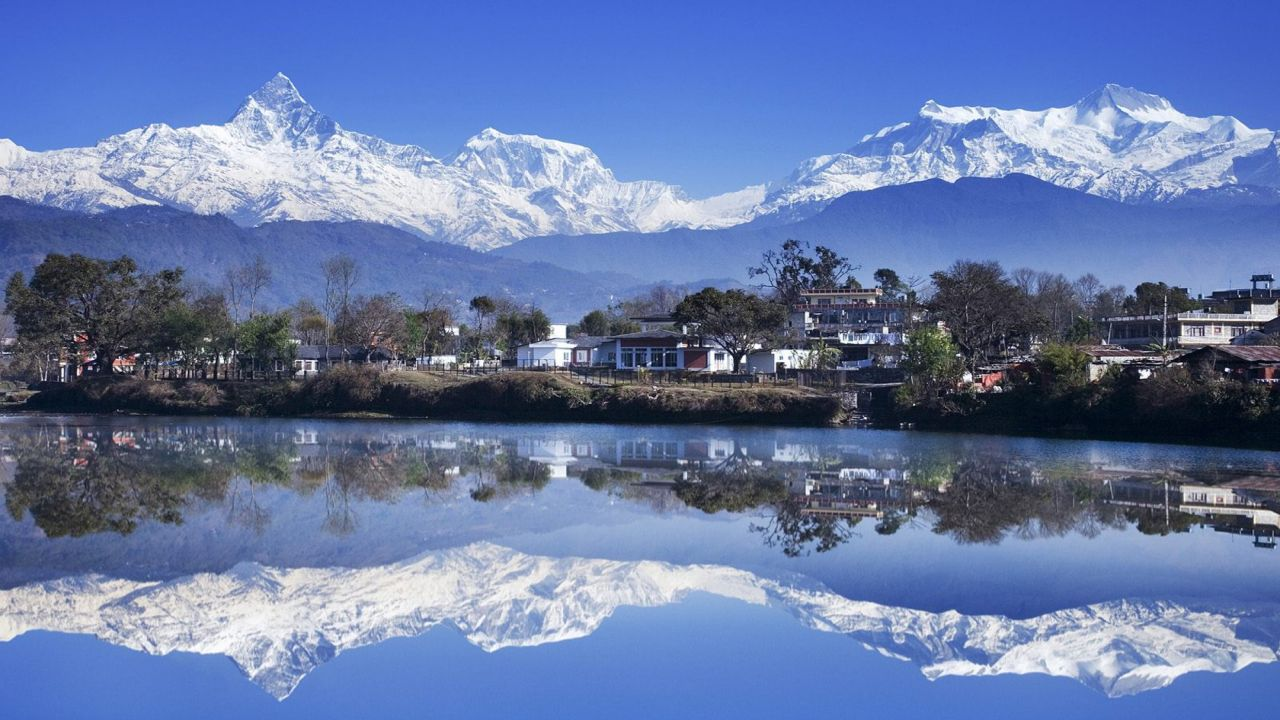 Lago Fewa, Pokhara, Nepal
