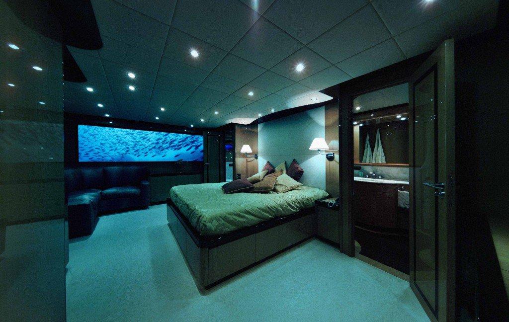 Suíte no submarino Lovers Deep