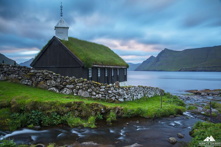 Church of Funningus, Ilhas Faroe. Foto Marco Grassi