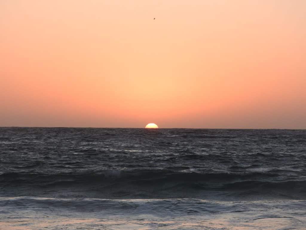 Nascer do Sol na Prainha