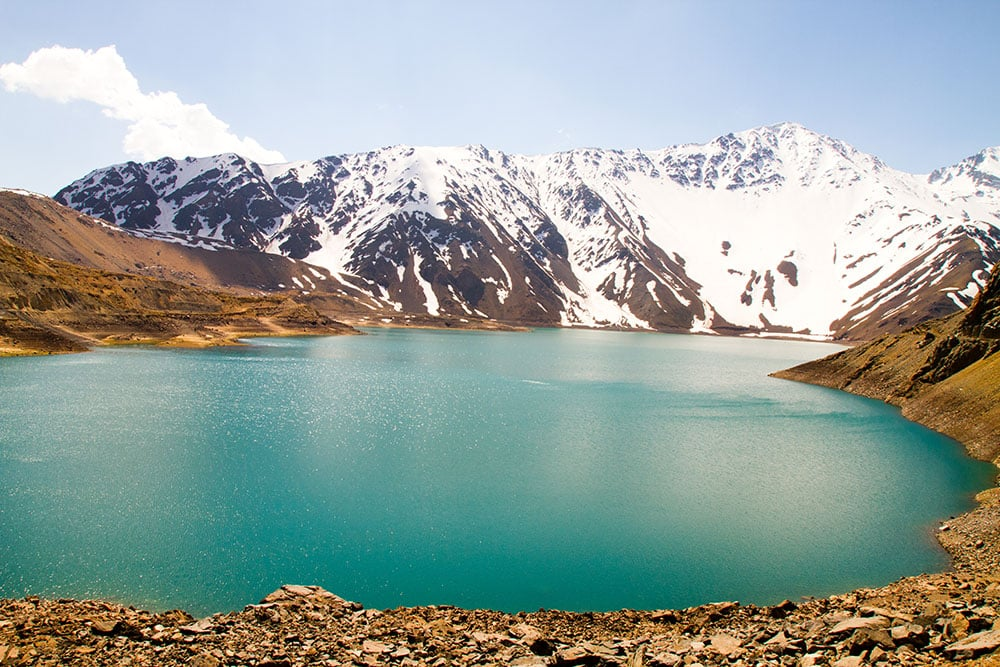 Embalse El Yeso. Foto via