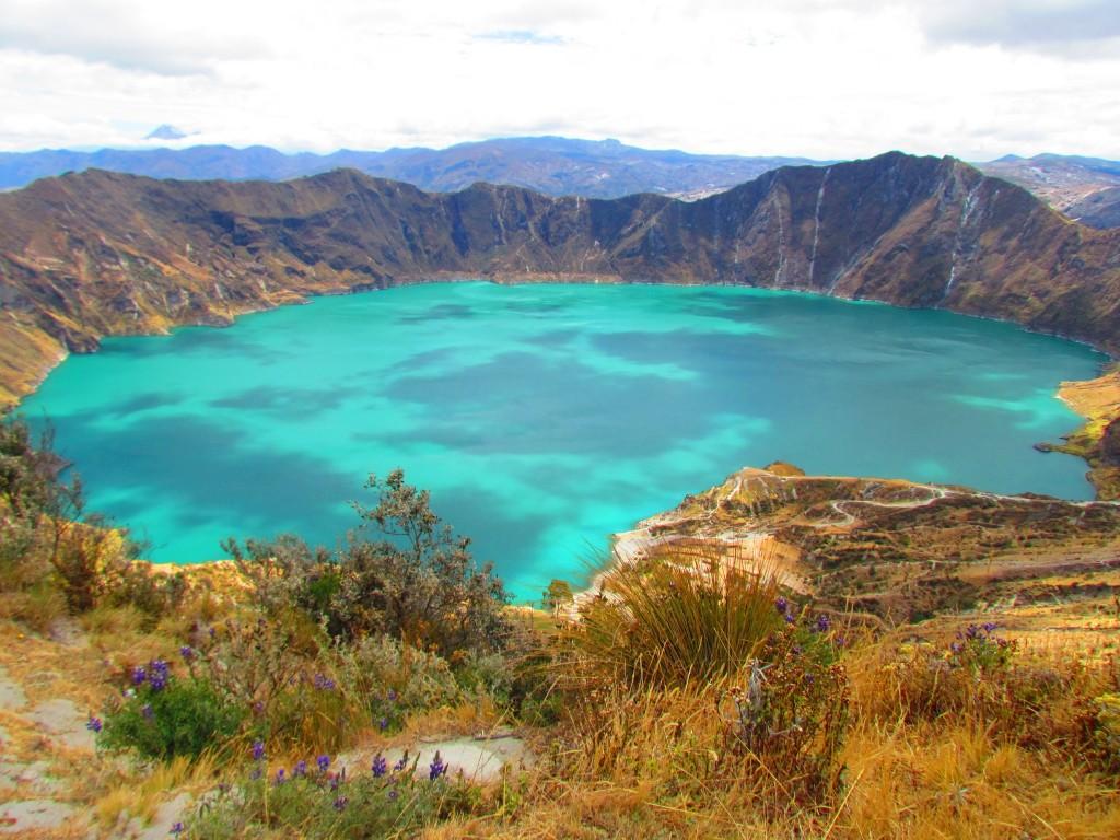 Lago Quilotoa. Foto: Arianwen Morris.