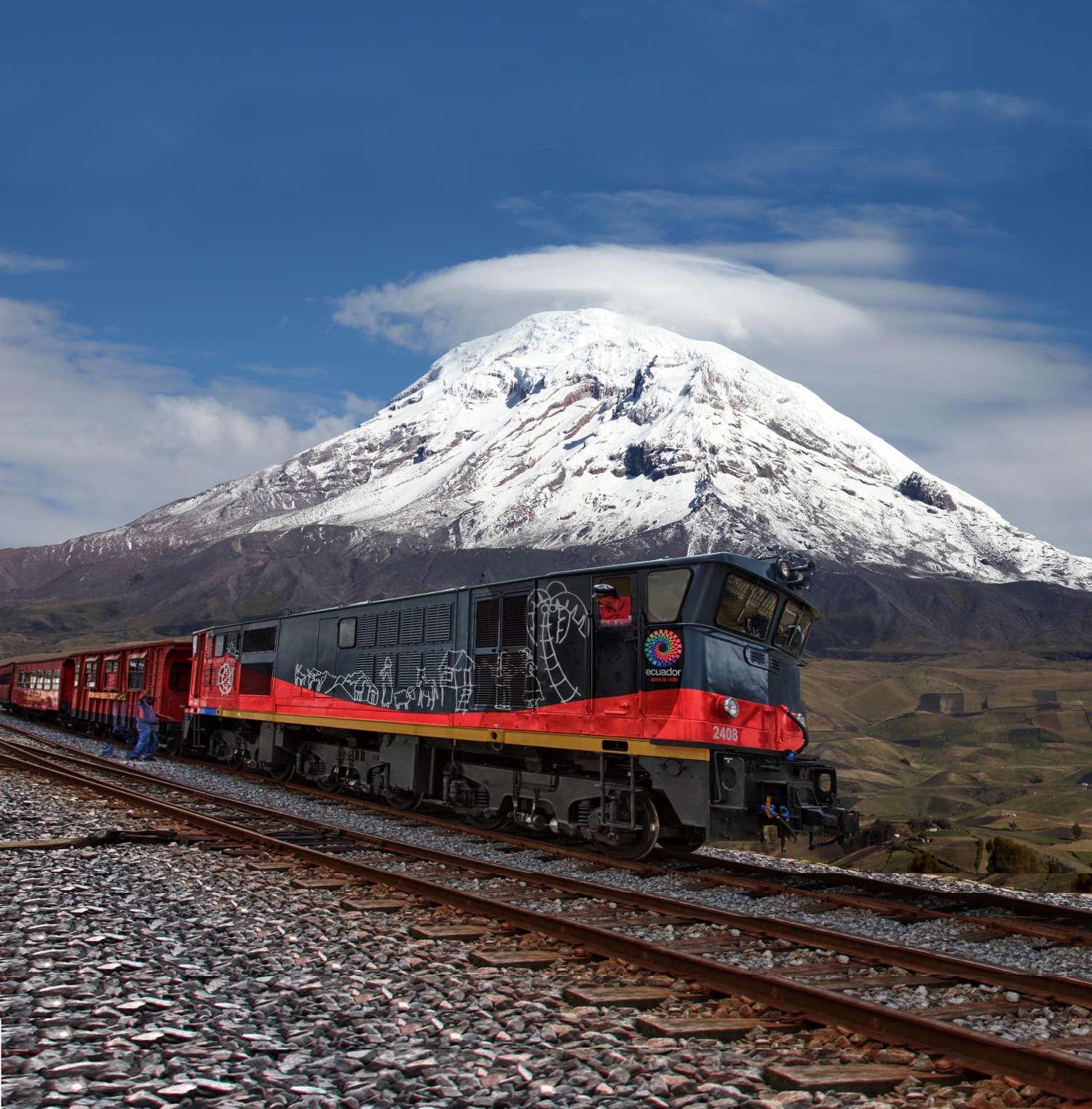 Trem dos Vulcões. Foto: Divulgação