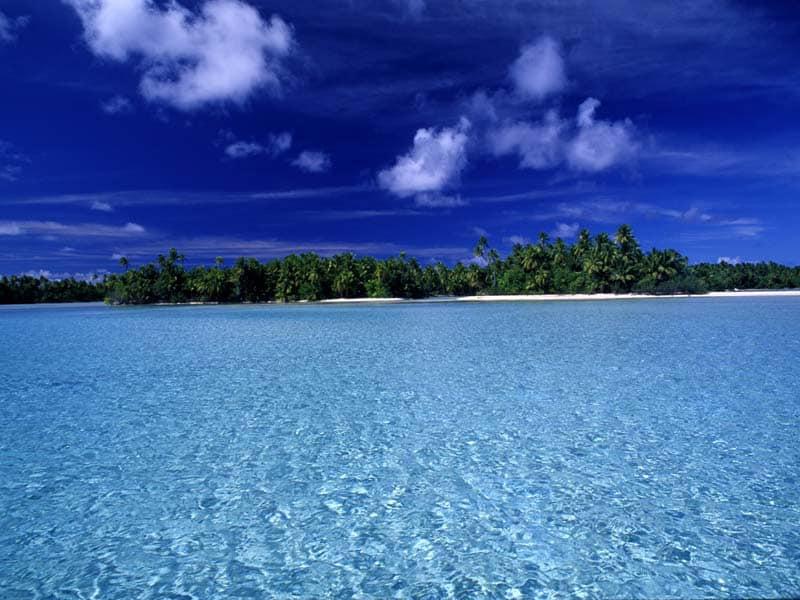 Ilha de Manihi. Foto via manihi-ile.