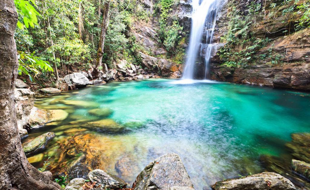 Cachoeira Santa Bárbara. Foto via.