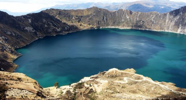 Vulcão Quilotoa. Foto: Sundaycooks.