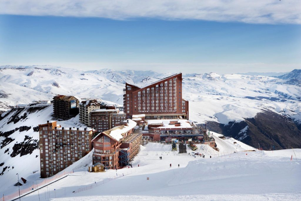 Valle Nevado. Foto via