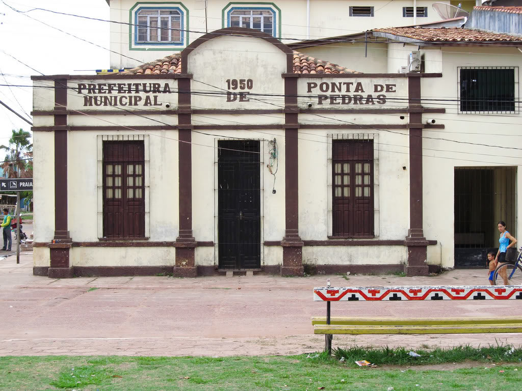 Prédio da Prefeitura. Foto via