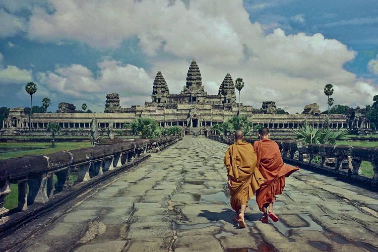 Angkor Wat. Foto de Vincent Ko Hon Chiu