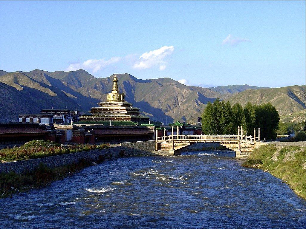 Labrang Monastery. Foto via