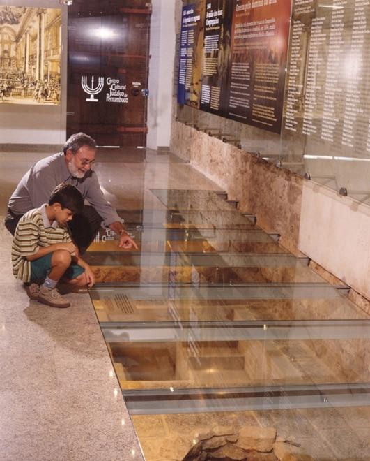 Museu do Arquivo Judaico de Pernambuco. Foto via