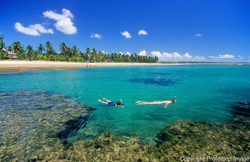 Península do Marau. Foto via