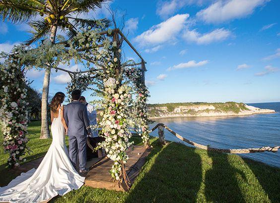 Casamento em Trancoso. Foto via.