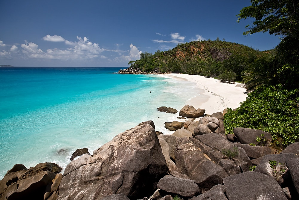 Anse Georgette. Foto via
