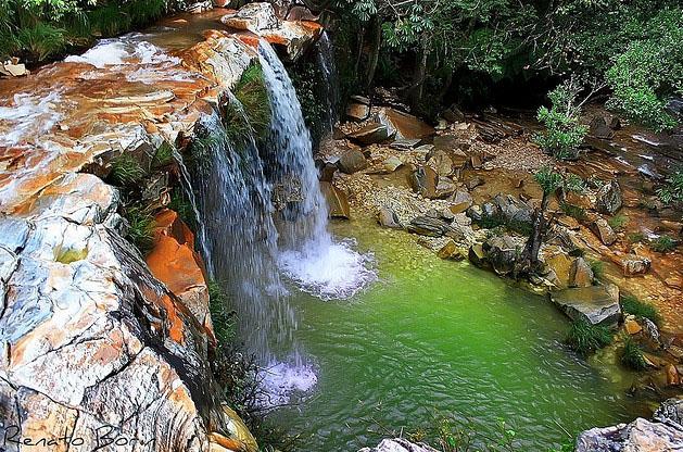 Cachoeira Vale das Borboletas. Foto via