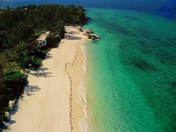 Praia de Bazaruto. Foto via