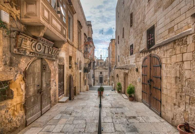 Ruas de Valetta. Foto via
