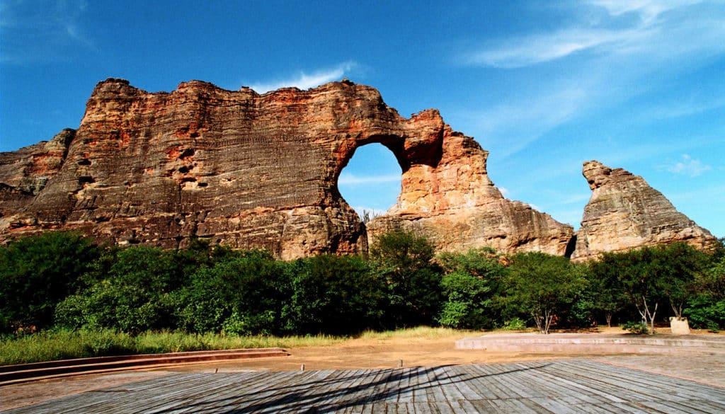 Serra da Capivara. Foto via