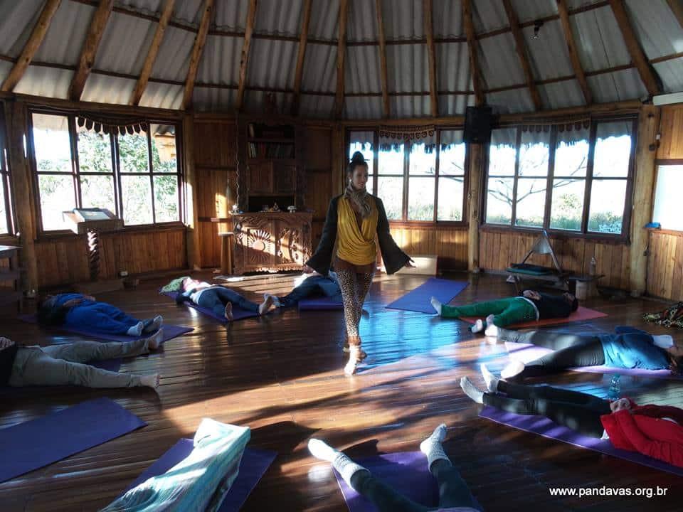 Retiro Yoga (foto Página do Paraíso dos Pândavas