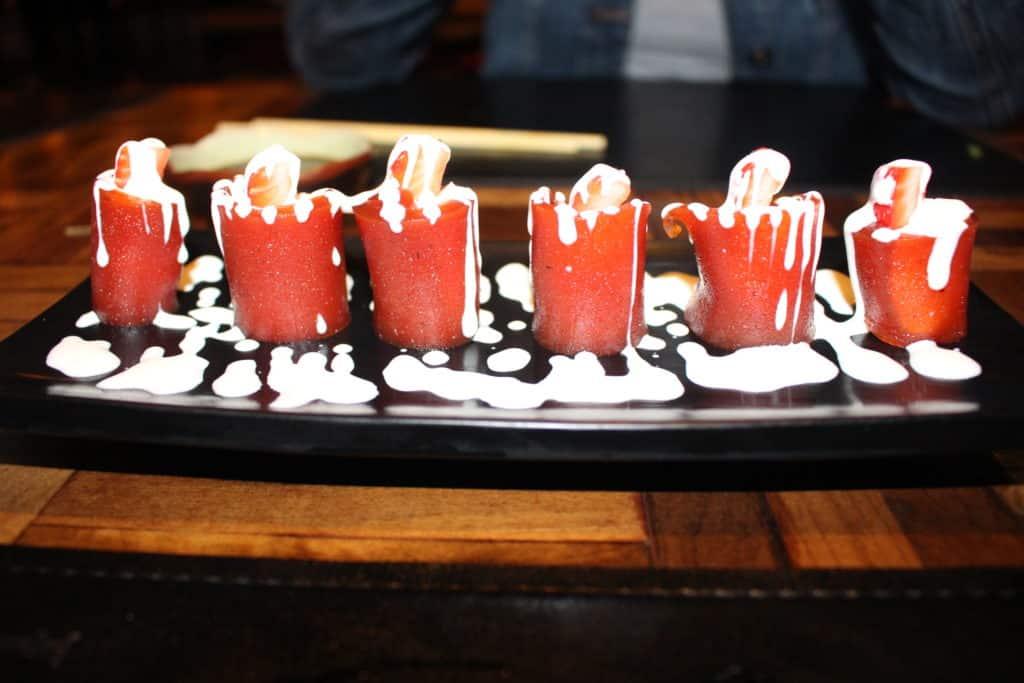Sushi especial de Goiabada