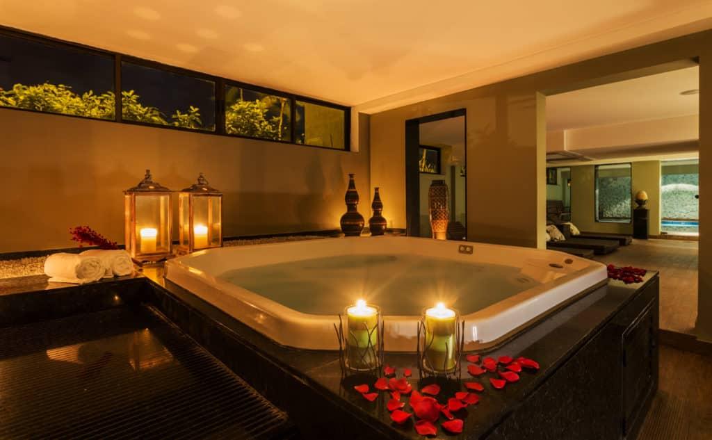 Banho de ofurô é uma ótima opção para relaxar