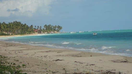 Praia de Burgalhau em Maragogi