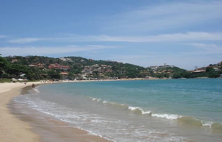 Praia Ferradura em Búzios