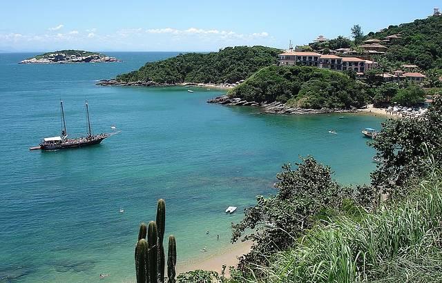Praia João Fernandes em Búzios