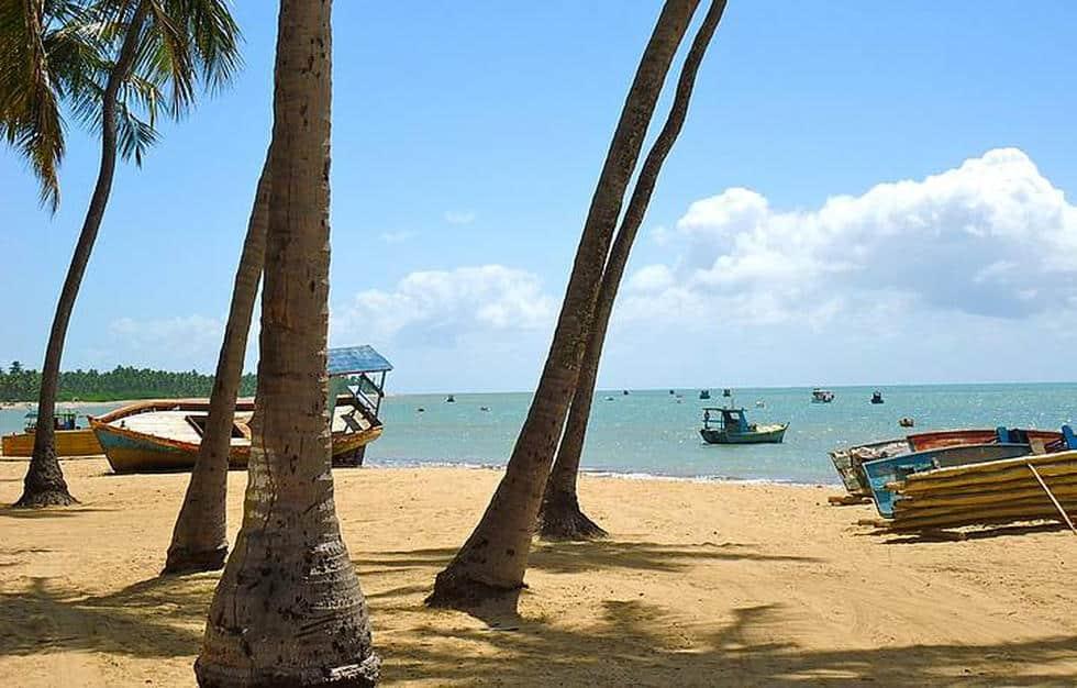 Praia São Bento em Maragogi