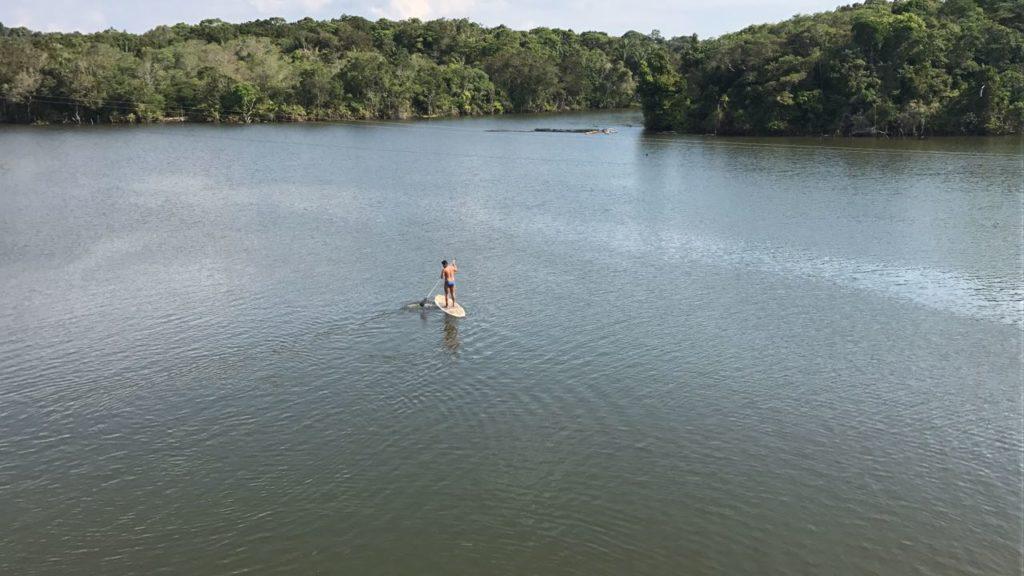 StandUp no Lago