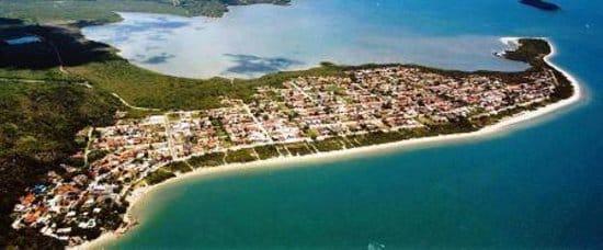 Praia Daniela em Florianópolis