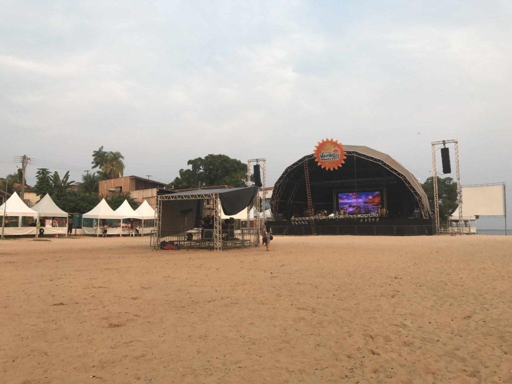 Palco do Festival de Verão