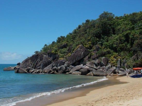 Praia do Jabaquara | Fonte: TripAdvisor